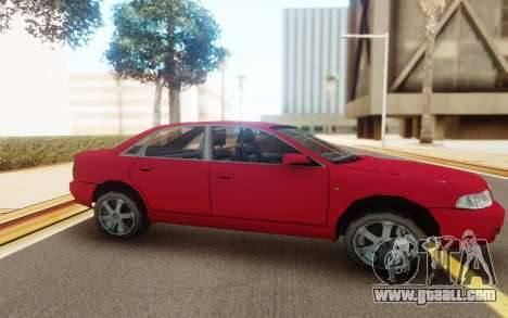 Audi S4 2000 for GTA San Andreas back view