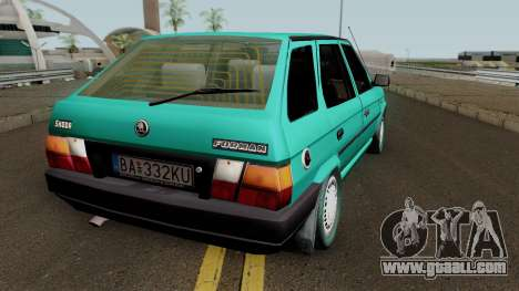 Skoda Forman 1994 for GTA San Andreas right view