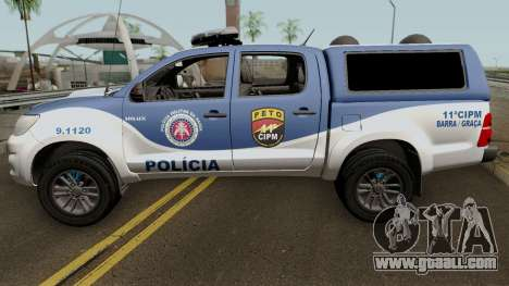 Toyota Hilux 2015 PETO CIPM for GTA San Andreas