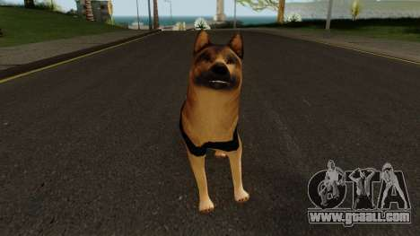 K9 Dog With Vest for GTA San Andreas second screenshot