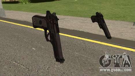 COD-MWR Beretta M9 for GTA San Andreas