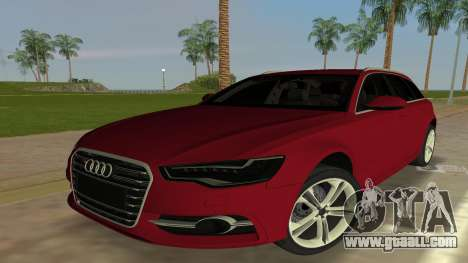 2014 Audi S6 Avant for GTA Vice City
