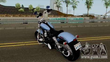 Harley-Davidson FXDB - Dyna Street Bob 2017 for GTA San Andreas
