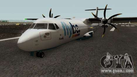 ATR 72-600 Flybe Livery for GTA San Andreas