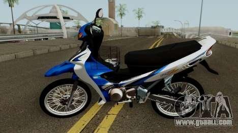 Yamaha 125z STD Version for GTA San Andreas