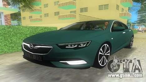 Opel Insignia 2018 for GTA Vice City