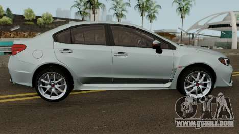 Subaru WRX STI 2016 for GTA San Andreas