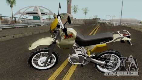 Honda XLX 350R for GTA San Andreas
