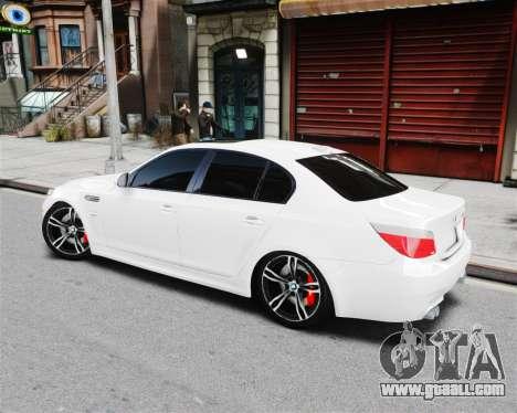 BMW M5 E60 for GTA 4