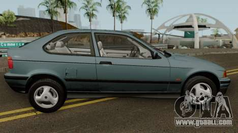 BMW 3-Series e36 Compact 318ti 1995 (US-Spec) for GTA San Andreas back view