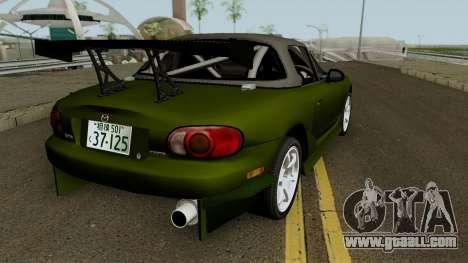 Omiya Satoshi NB8C for GTA San Andreas