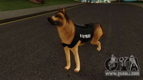K9 Dog With Vest for GTA San Andreas
