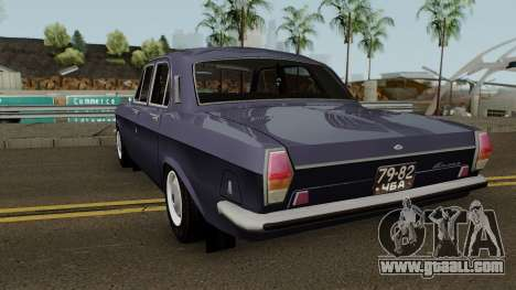 GAZ 24 Volga Stock for GTA San Andreas