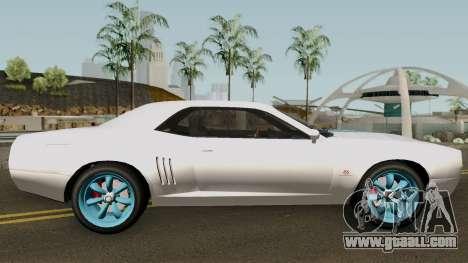 Dodge Challenger SRT Normal (Gauntlet) 2012 for GTA San Andreas