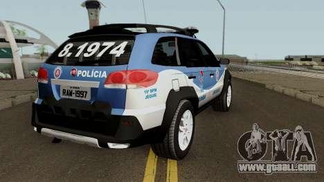 Fiat Palio Weekend Aventure 2017 Ronda Escolar for GTA San Andreas