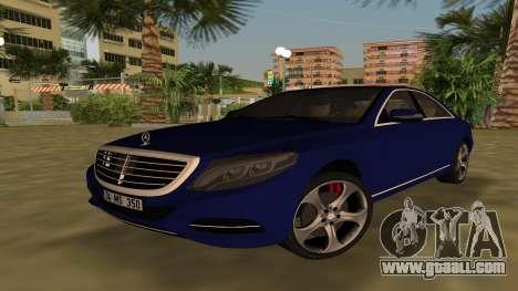 2015 Mercedes-Benz S350 Bluetec for GTA Vice City