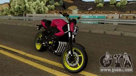 Yamaha XJ6 2013 Motovlog for GTA San Andreas
