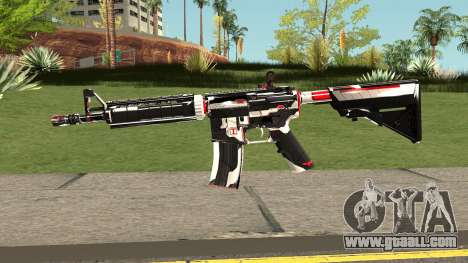 M4A4 TiiTree for GTA San Andreas