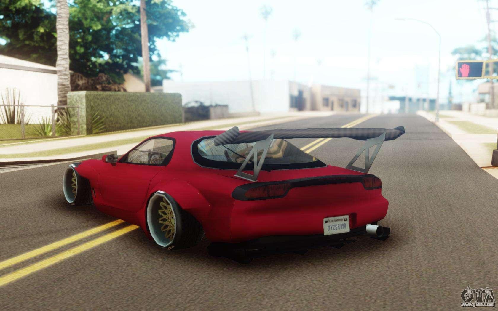 74 Mod Mobil Mazda Rx 7 Gta San Andreas HD Terbaru
