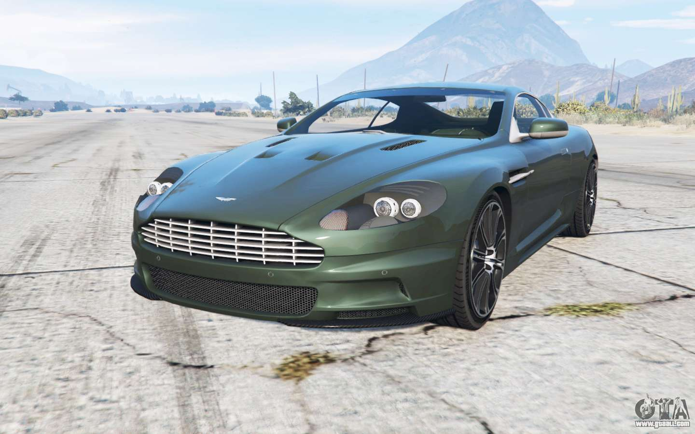 Aston Martin Dbs 2007 For Gta 5
