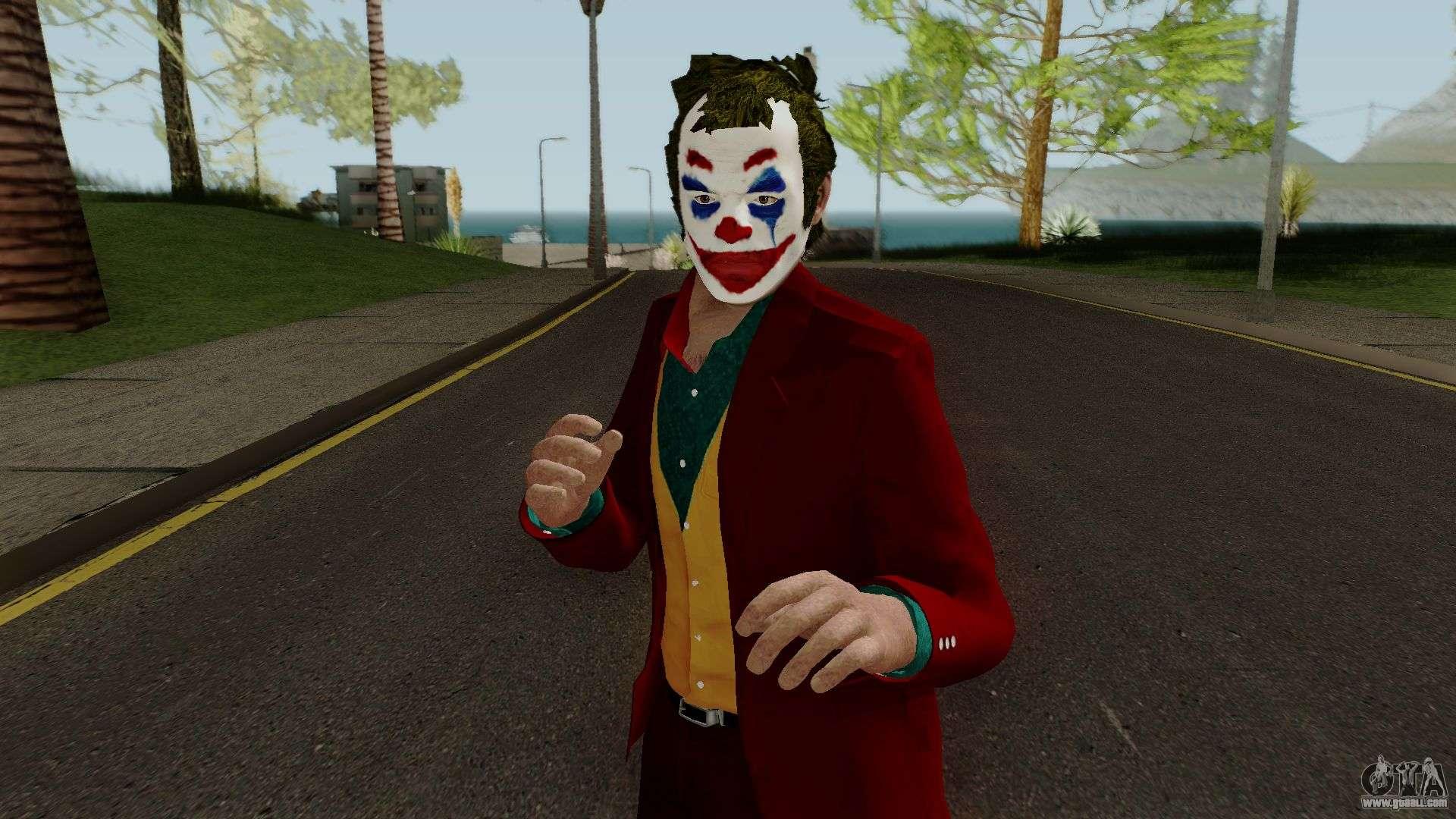 Joker Skin HQ for GTA San Andreas