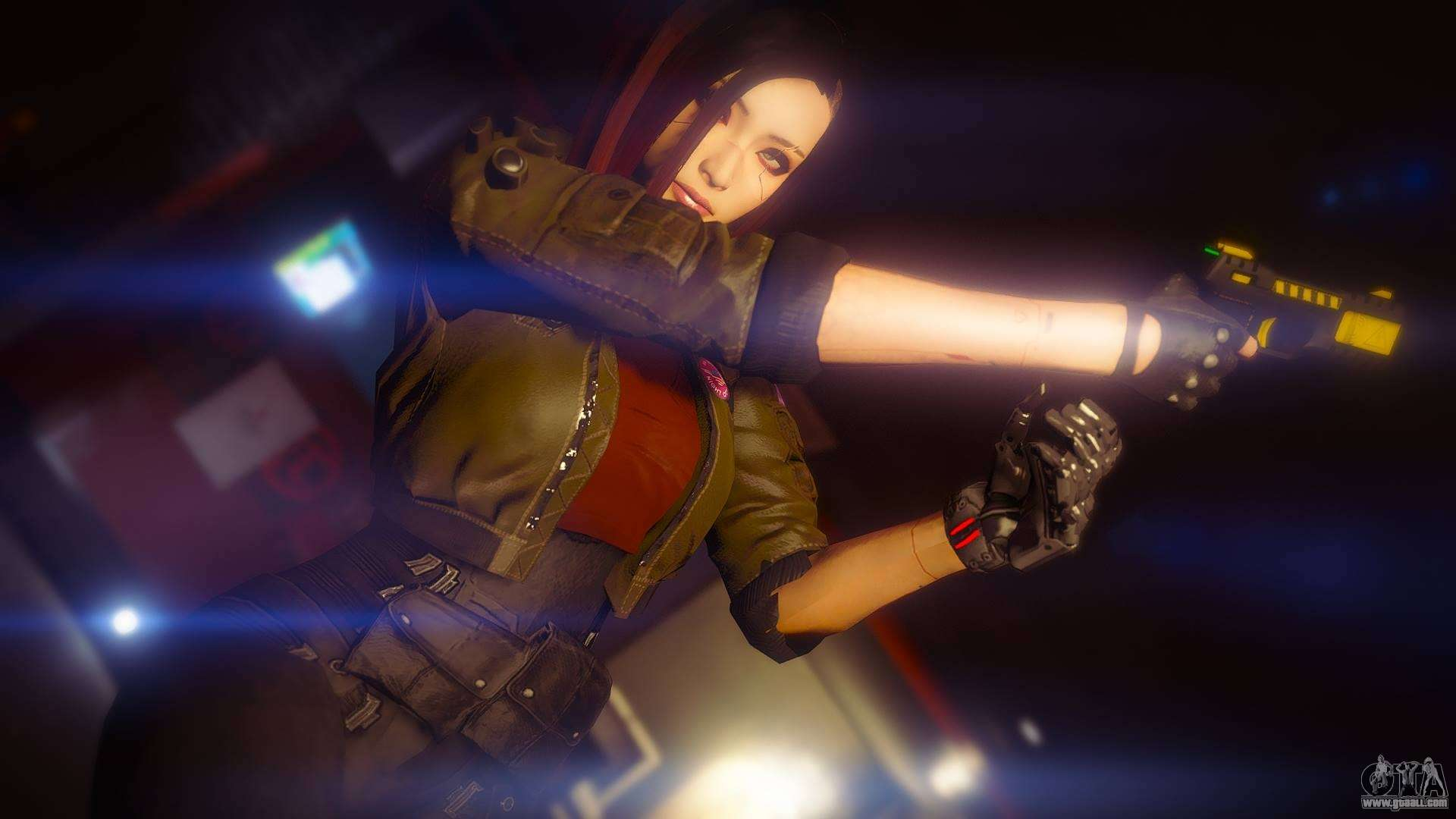 Cyberpunk Custom Female Ped for GTA 5