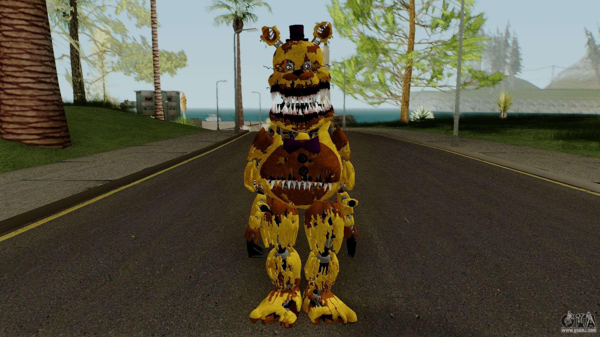 Nightmare Fredbear (FNaF) for GTA San Andreas