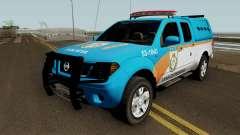 Nissan Frontier PMERJ BPVE 2013 for GTA San Andreas