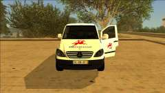 Mercedes Vito CTT - Portuguese Mail Van for GTA San Andreas