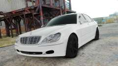 Mercedes-Benz S600 White for GTA 4