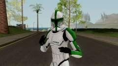 Clone Trooper Green (Star Wars The Clone Wars)