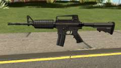 M4A1 Black High Quality for GTA San Andreas
