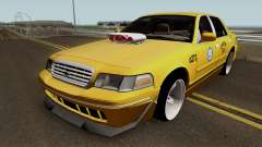 Ford Crown Victoria New York Taxi (Taxi Movie)