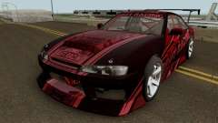 Nissan Silvia S14 Drift X 1998 for GTA San Andreas