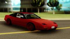 Nissan 240SX Red for GTA San Andreas