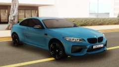 BMW M2 Blue for GTA San Andreas