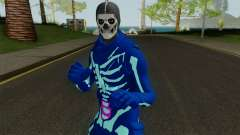 FORTNITE - Galaxy Skull Trooper for GTA San Andreas