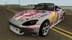 Honda S2000 Akari Yuru Yuri for GTA San Andreas
