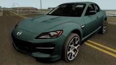 Mazda RX-8 HQ for GTA San Andreas