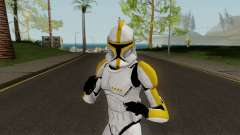 Clone Trooper Yellow (Star Wars The Clone Wars) for GTA San Andreas