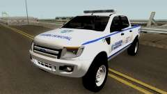 Ford Ranger Guarda Municipal de Canoas for GTA San Andreas