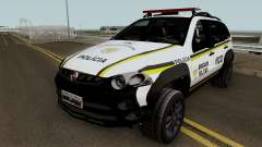 Fiat Palio Weekend Brazilian Police for GTA San Andreas