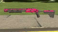 Rifle GTA V Online Pink Skull Livery for GTA San Andreas