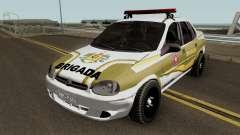 Chevrolet Corsa Brazilian Police for GTA San Andreas