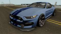 Ford Mustang Shelby GT350R 2016 HQ for GTA San Andreas