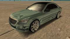 Mersedes-Benz S63 W222 Bulkin Amoral for GTA San Andreas