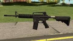 M4A1 WARFACE for GTA San Andreas