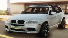 BMW X5M E70 White for GTA San Andreas