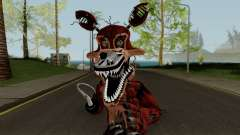 Nightmare Foxy (FNaF) for GTA San Andreas