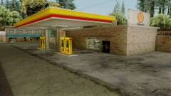 Shell Gas Stations v1.6 for GTA San Andreas